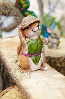 Department 56 Enchanted Guardians Chester Chipmunk 4039885 Garden Figurine